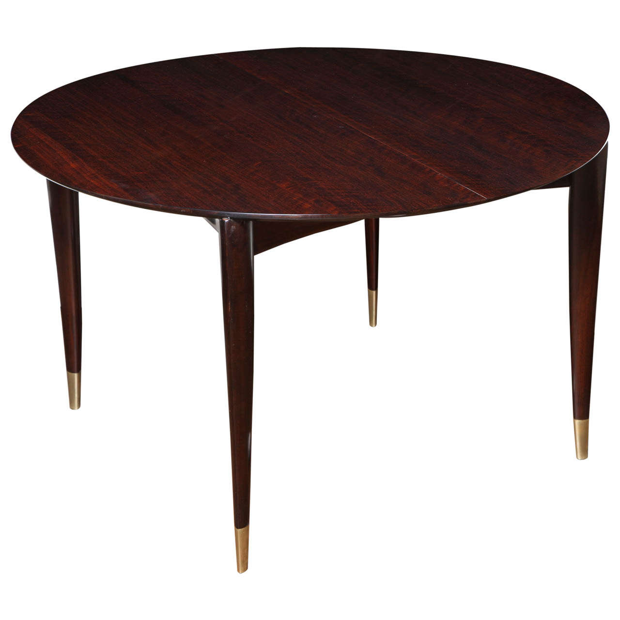 Circular Dining Table By Gio Ponti For M. Singer U0026 Sons For Sale