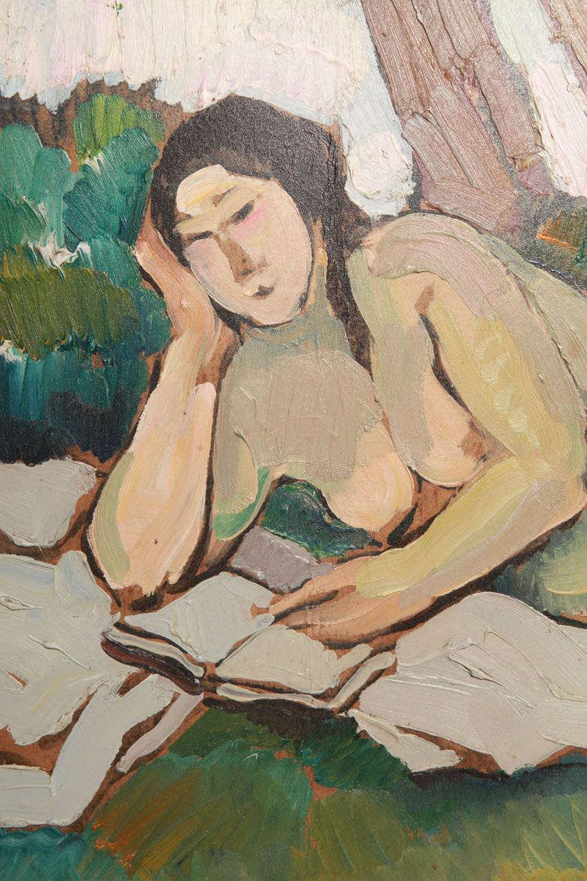 20th Century Female Figure in Garden For Sale 3