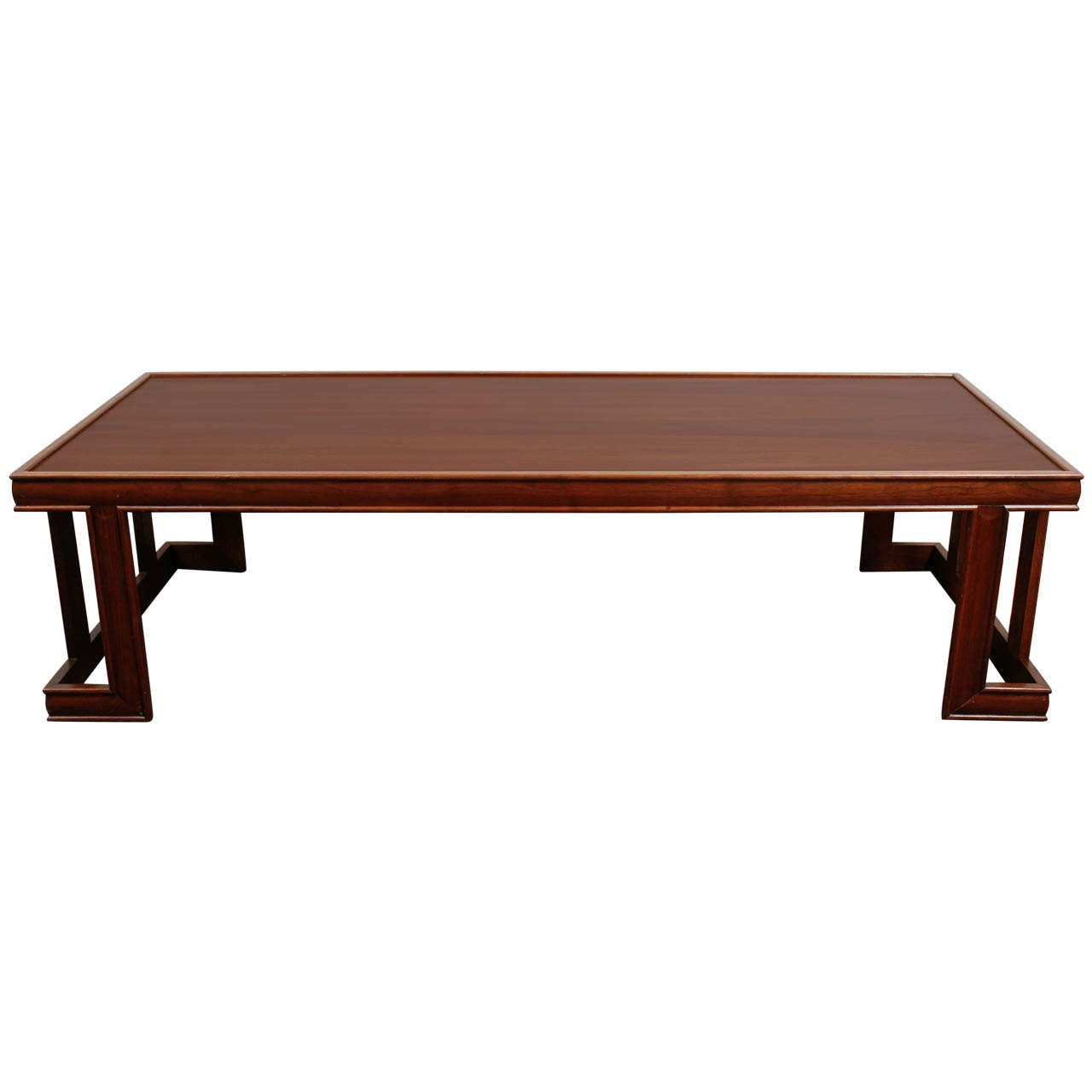 John Keal Brown Saltman Hexagonal Style Coffee Table At 1stdibs