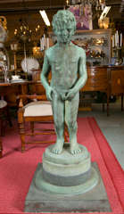 Bronze Fountain Pee Pee Boy At 1stdibs