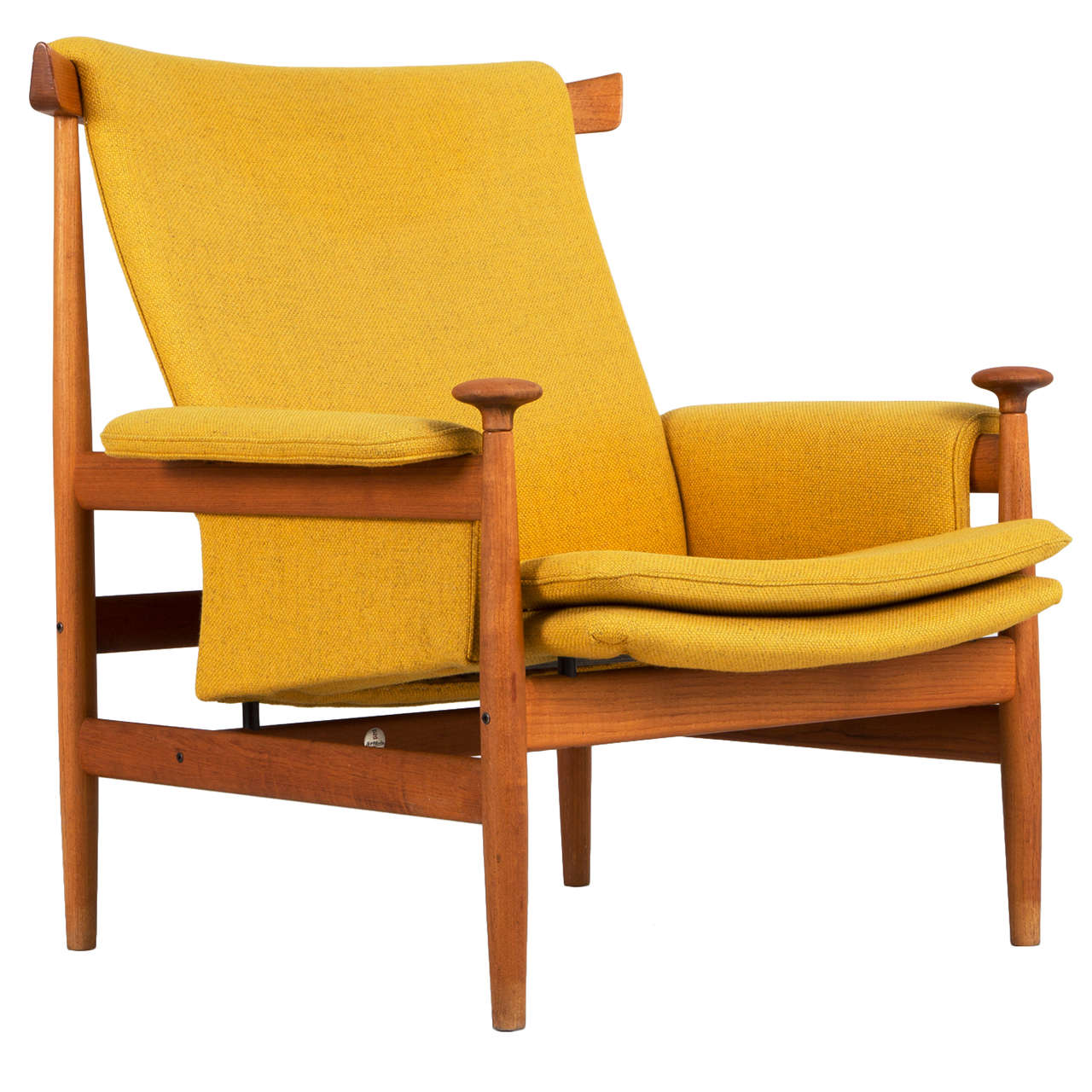 Bwana Chair By Finn Juhl For France And Sons, Denmark 1