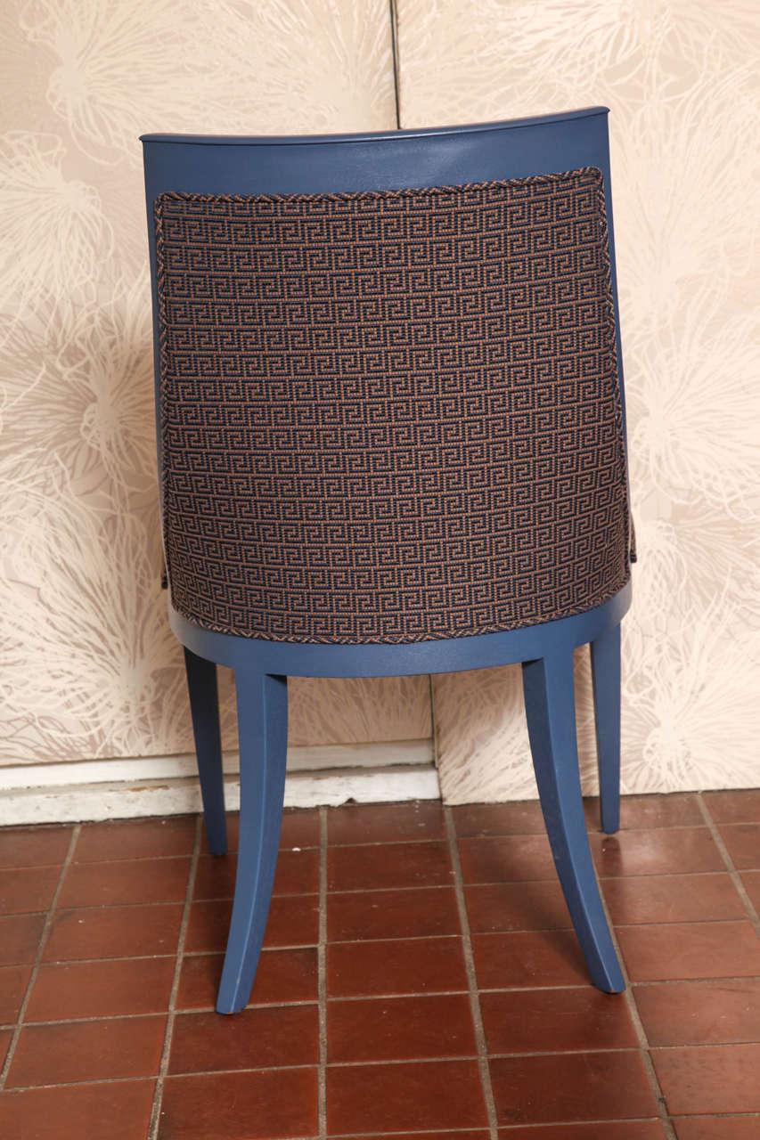 Greek Key Art Deco Chair For Sale 1