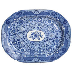 An early 19th century English Platter