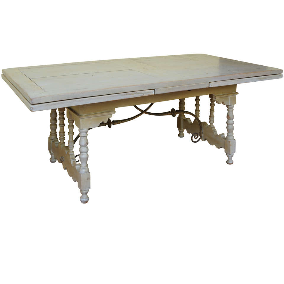Addison mizner spanish revival dining table and chairs at for Table in spanish