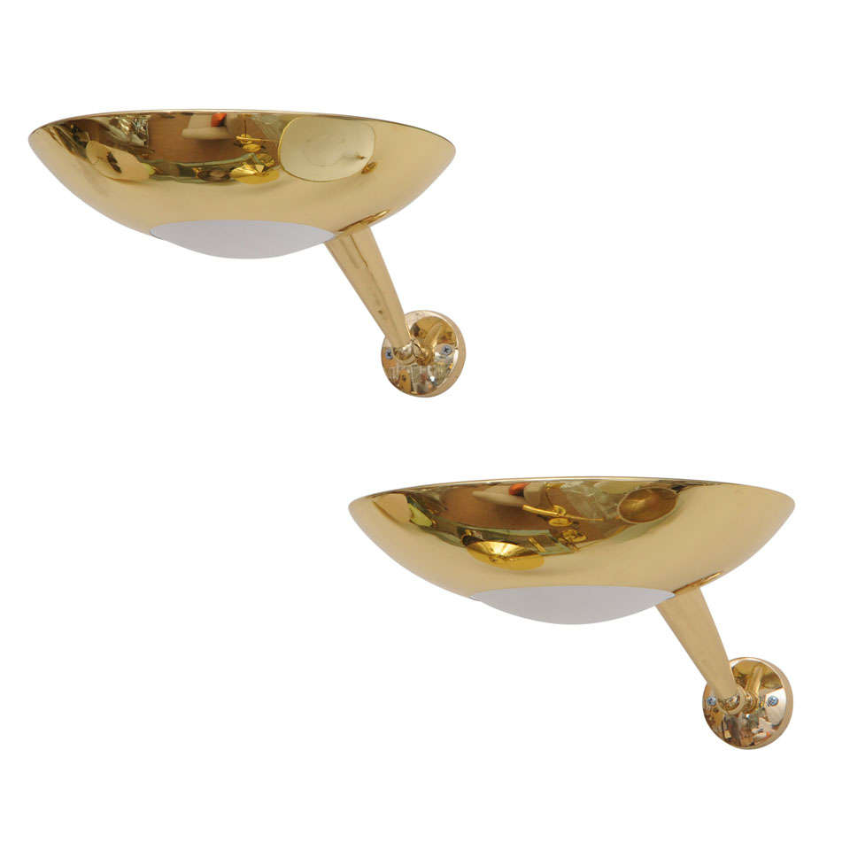 Pair of Sconces in the style of Stilnovo