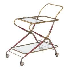 Cesare Lacca Bar Cart mid-Century Modern Italy