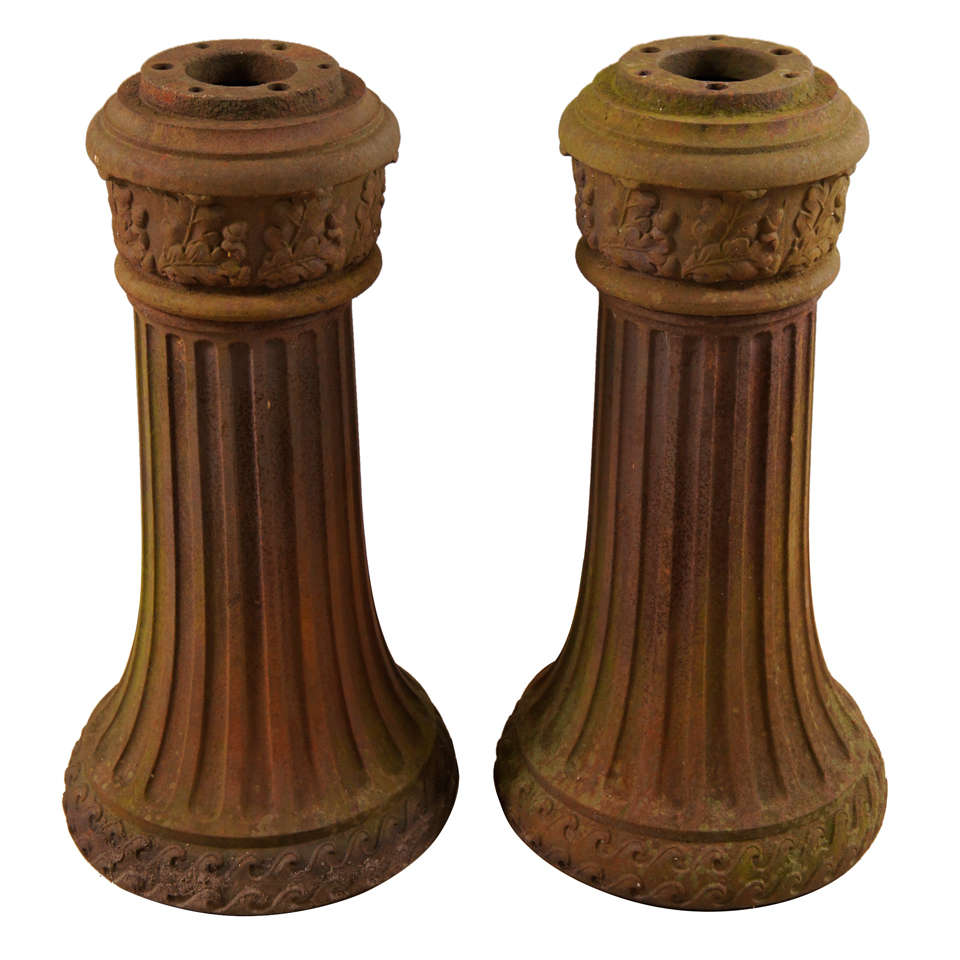Cast Iron Lamp Post Bases At 1stdibs
