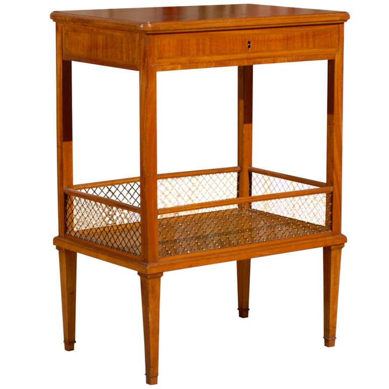 Lemon Wood Furniture ~ Table in lemonwood for sale at stdibs