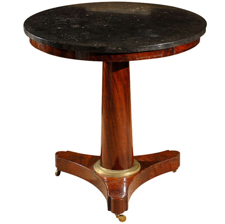 Gueridon table empire period at 1stdibs for Table gueridon