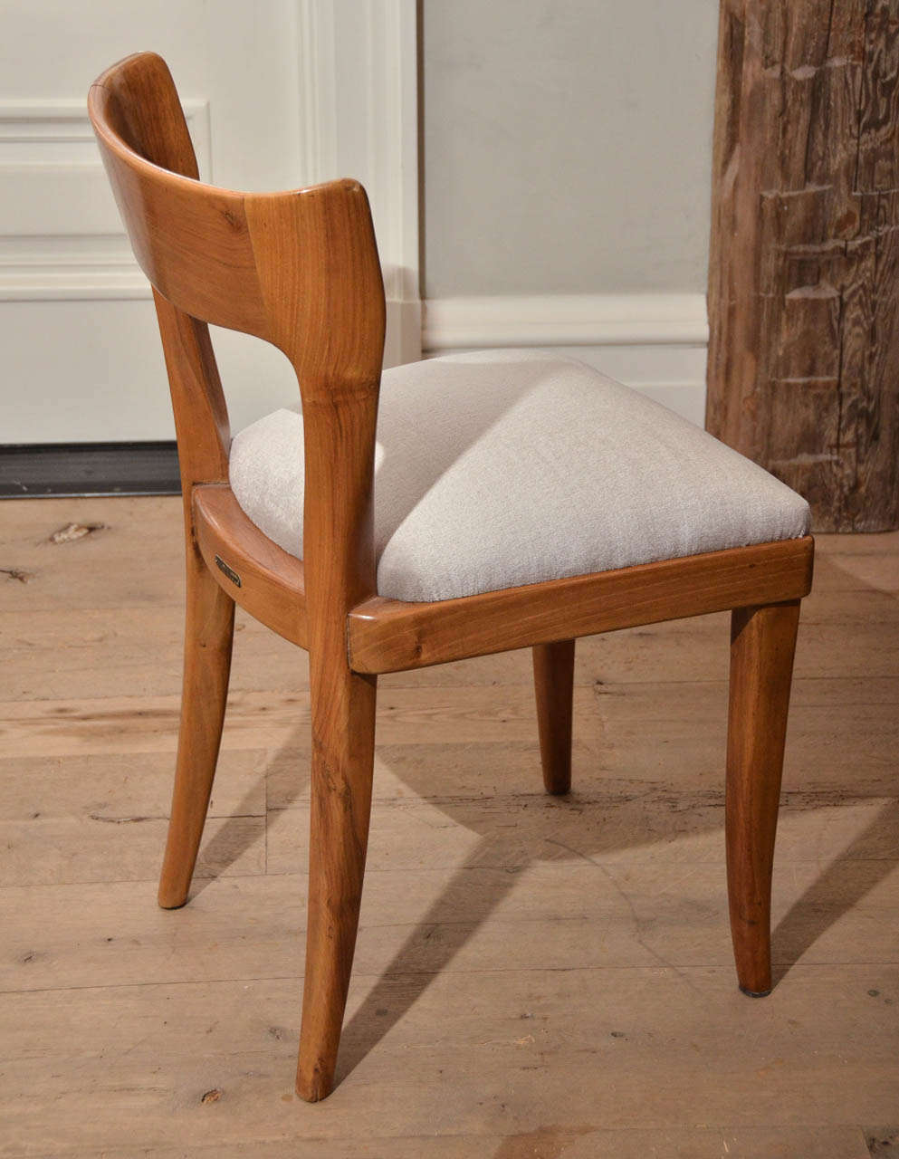 20th Century Set of Six Midcentury Italian Dining Chairs by Cassina For Sale