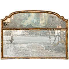 18th c. Venetian Horizontal Giltwood Mirror
