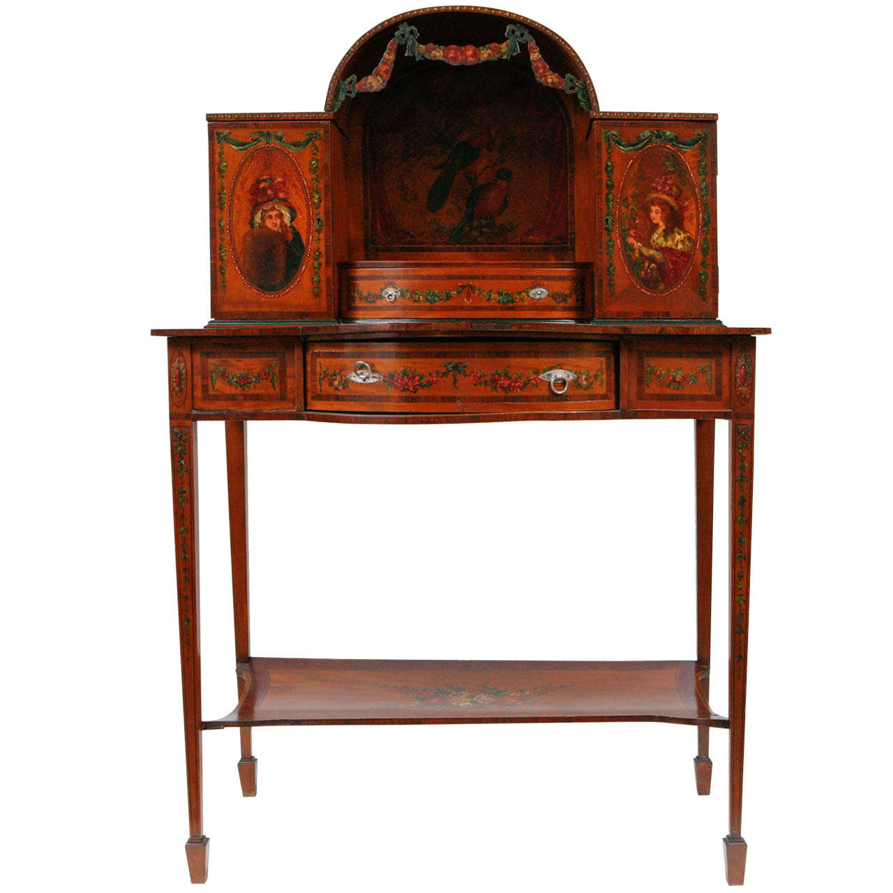 19th Century English Ladies Writing Desk For Sale