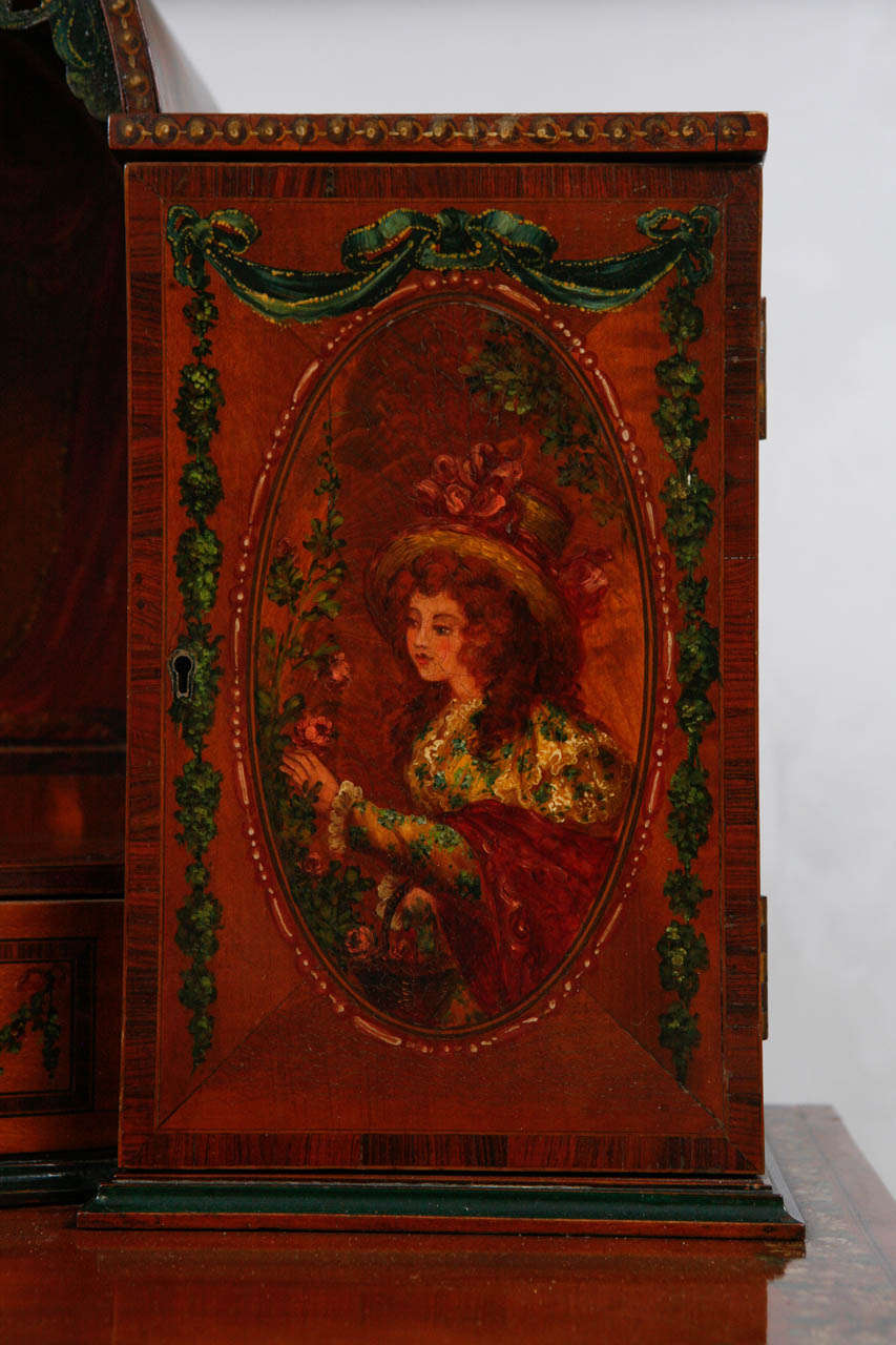 19th Century English Ladies Writing Desk For Sale 1