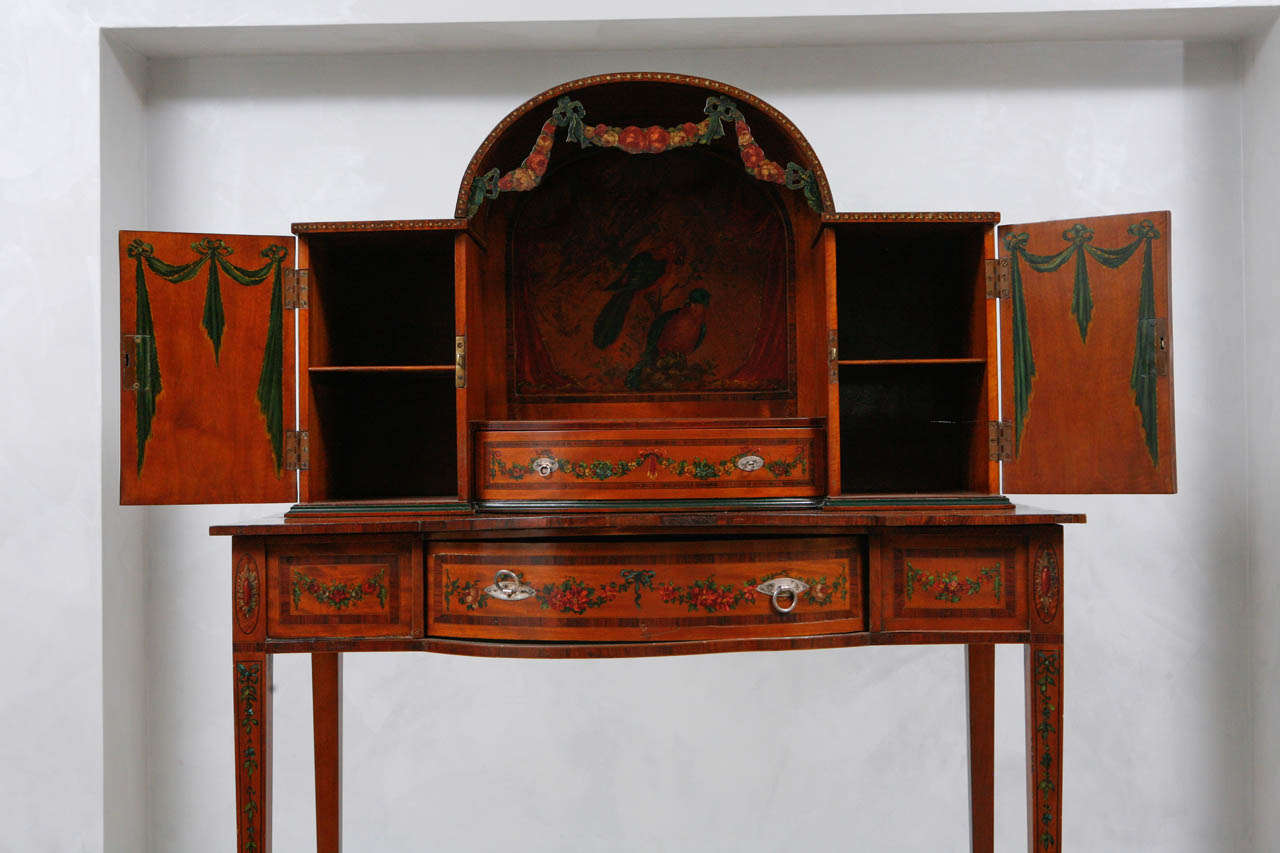 19th Century English Ladies Writing Desk For Sale 2