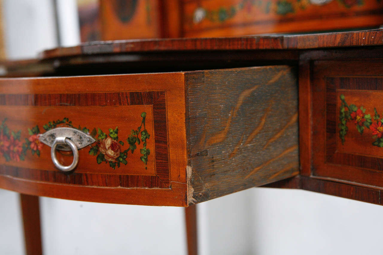19th Century English Ladies Writing Desk For Sale 4