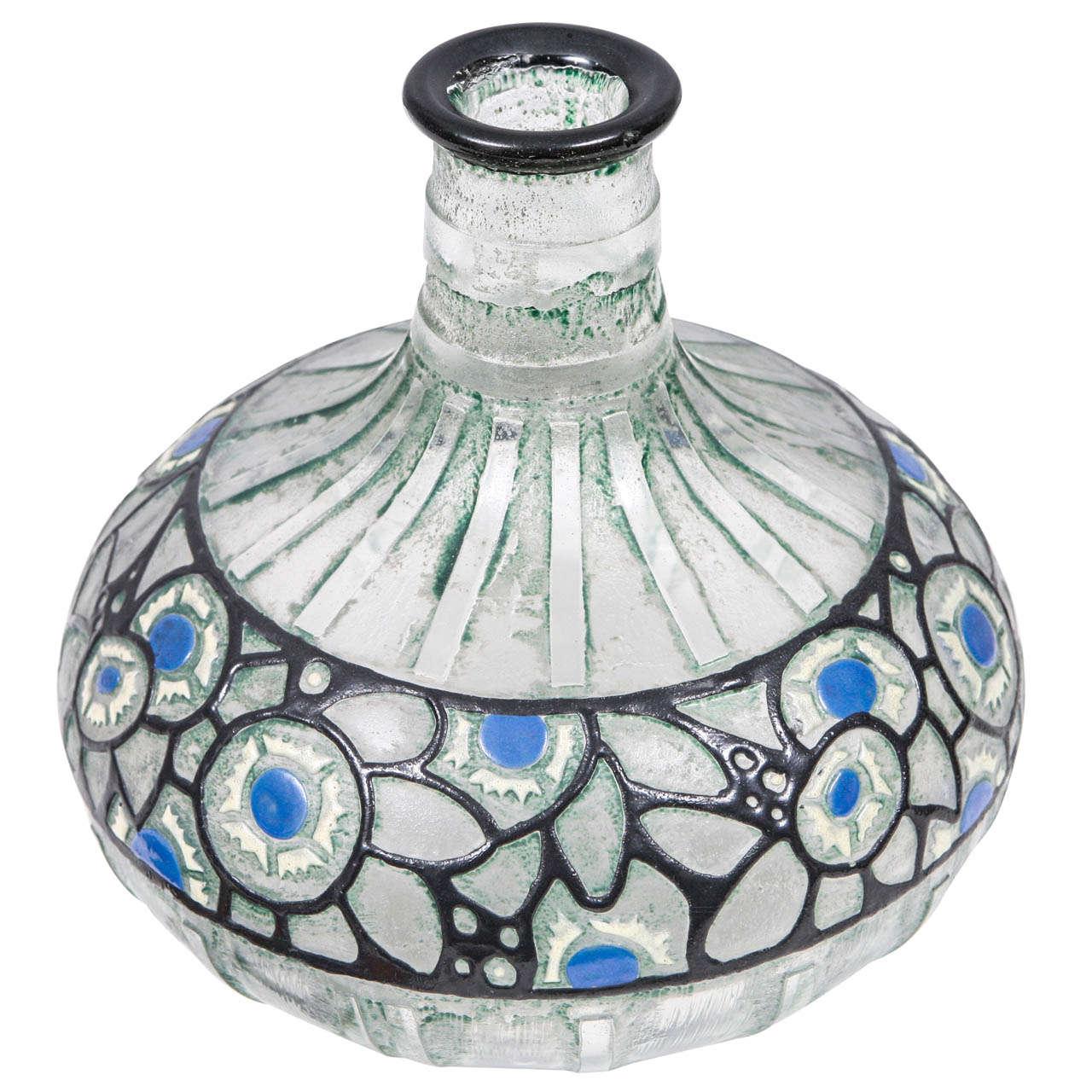 1920's French Delatte Vase