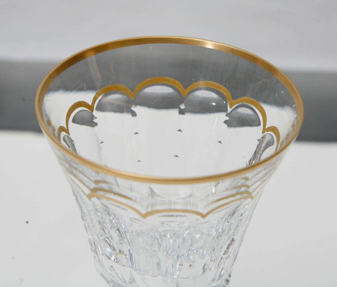 Saint-Louis set of 175 Cut Crystal Glasses In Excellent Condition For Sale In Los Angeles, CA