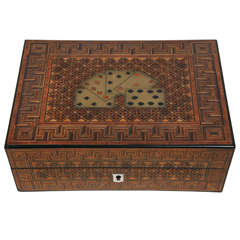 19th Century English Game Box