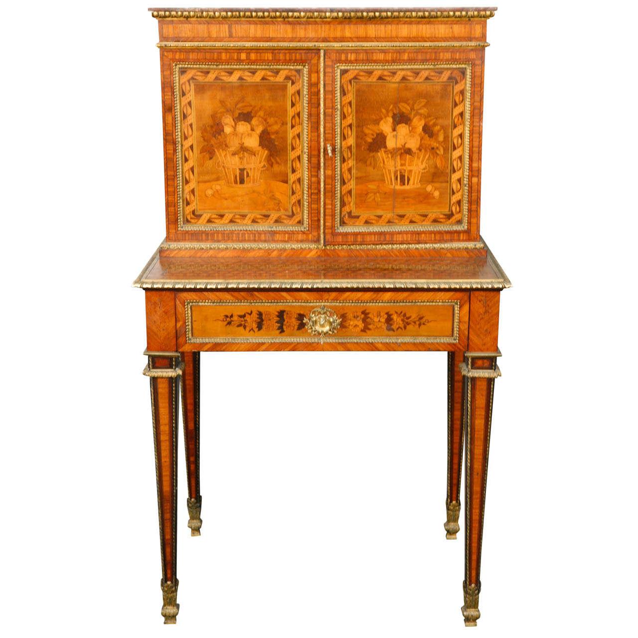 19th Century French Writing Desk Secretary