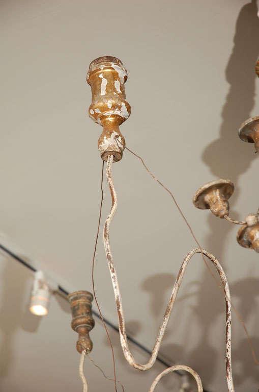 19th Century Italian Twelve-Light Chandelier For Sale