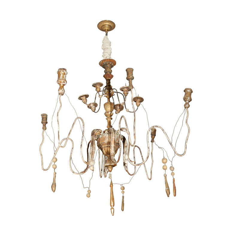 Italian Twelve-Light Chandelier