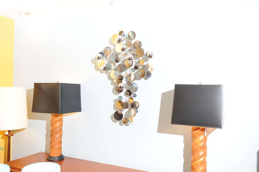 """C.Jere """"Raindrops"""" Wall Sculpture 3"""