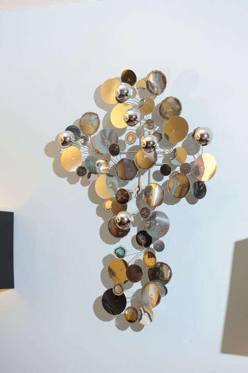 """C.Jere """"Raindrops"""" Wall Sculpture For Sale 2"""