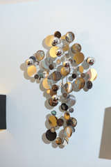 "C.Jere ""Raindrops"" Wall Sculpture image 7"