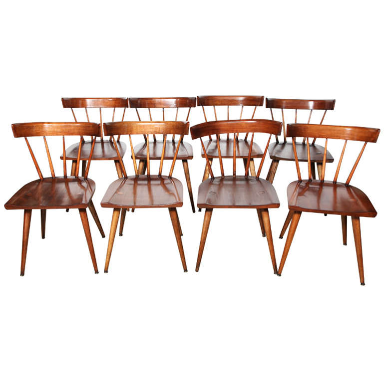 United Nations Dining Room: Set Of 8 Paul McCobb Planner Group Chairs At 1stdibs