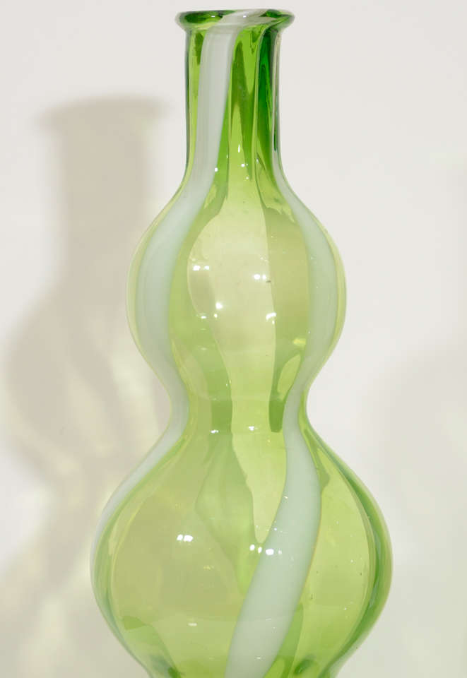 Pair of Italian Glass Vases 5