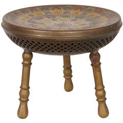Wonderful Bronze Stool, Seat or Warmer
