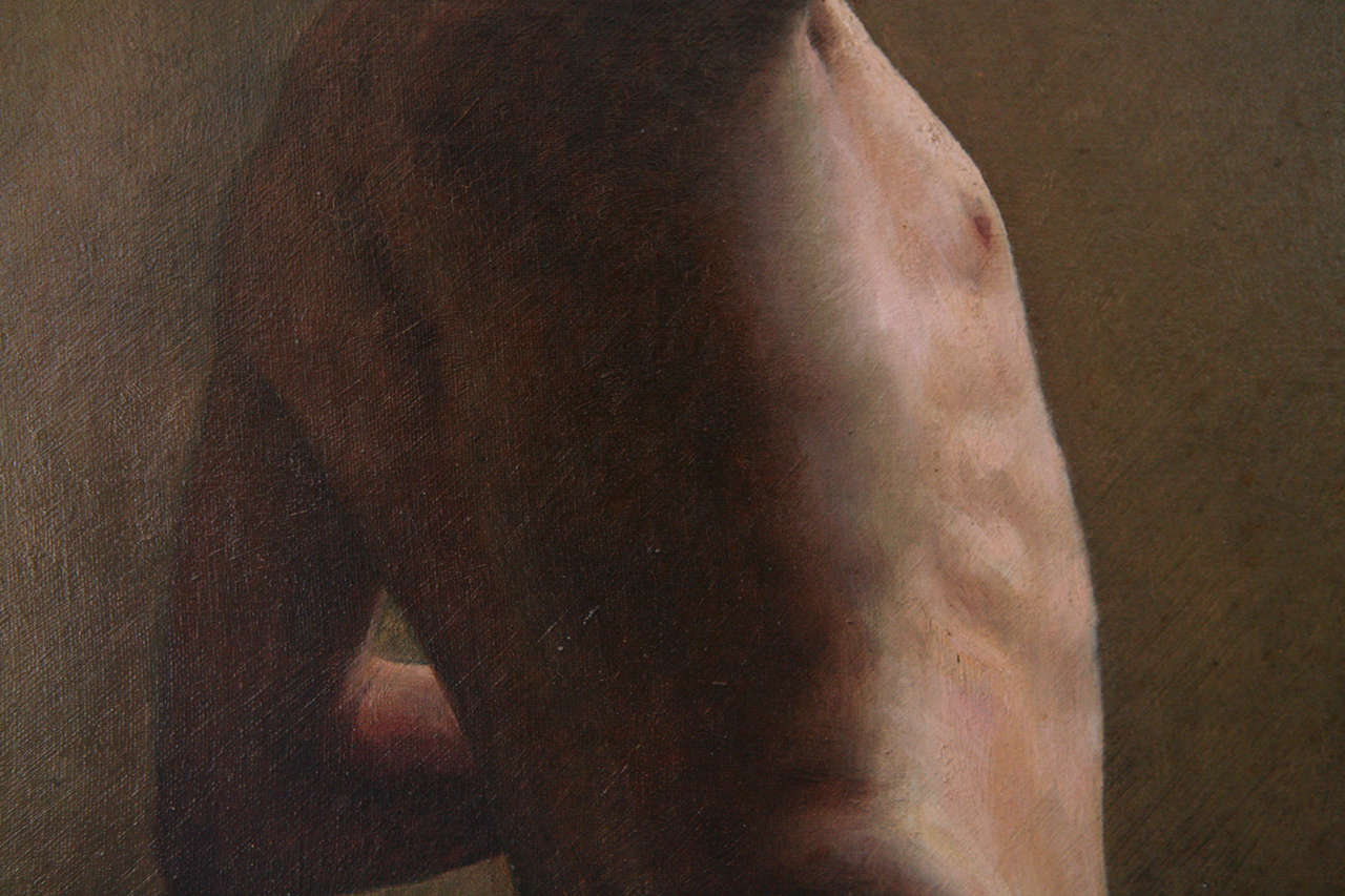 19th Century Nude Painting For Sale