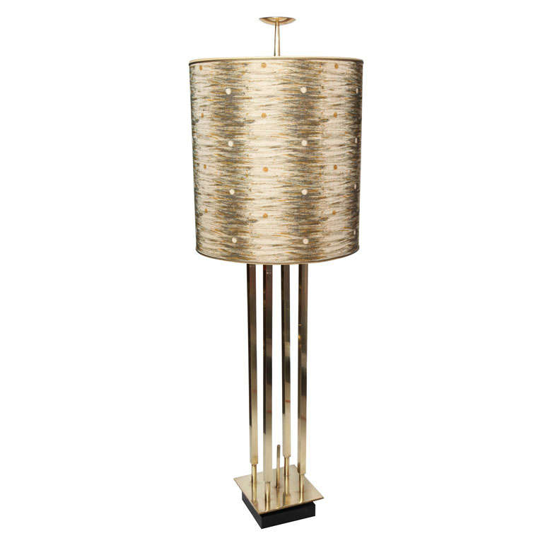 Unique Stiffel Tall Brass Lamp For Sale At 1stdibs