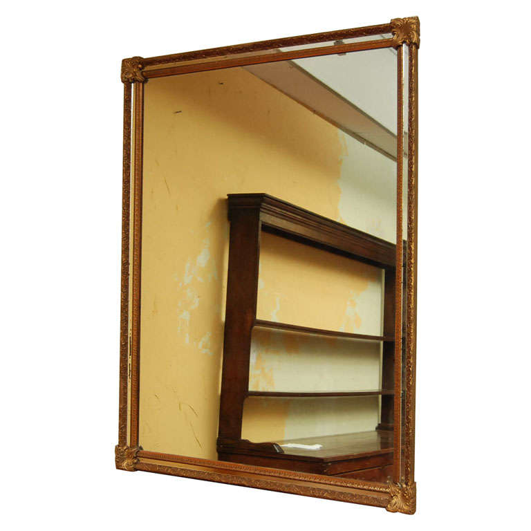 Over mantel mirror at 1stdibs for Mantel mirrors