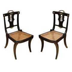 Empire Style Side Chairs