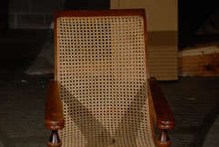 Cane Woven Plantation Chair image 4