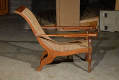 Cane Woven Plantation Chair image 5