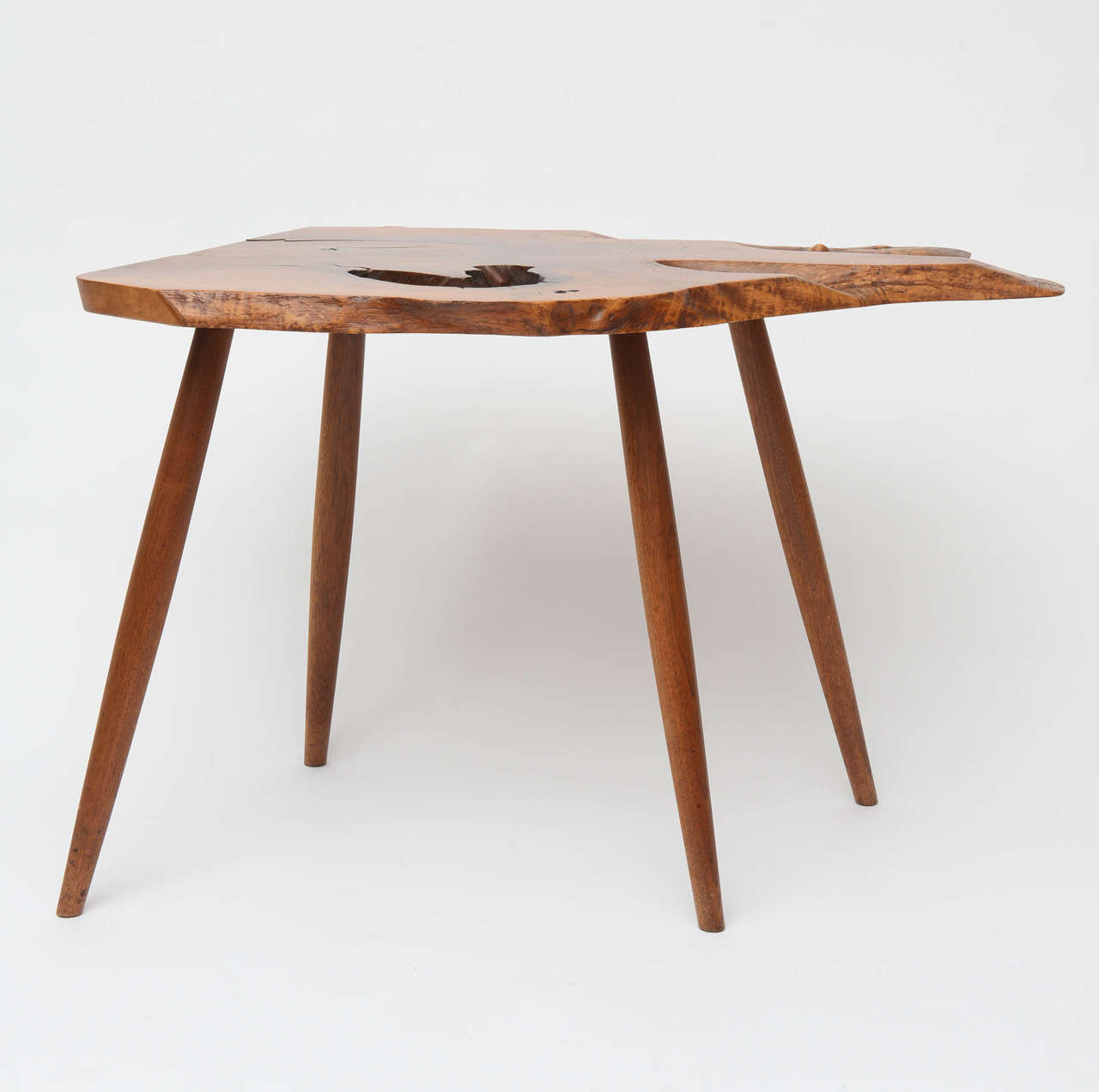George Nakashima Slab End Table 2