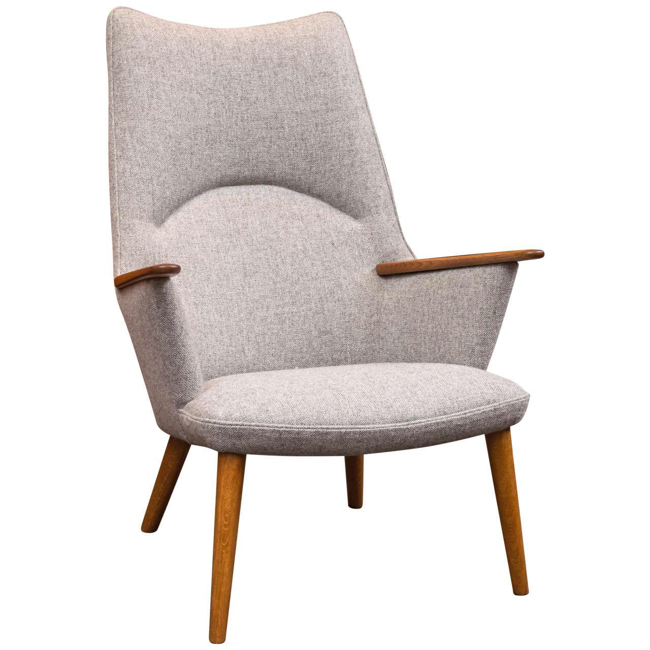 Hans Wegner AP 27 Lounge Chair For Sale