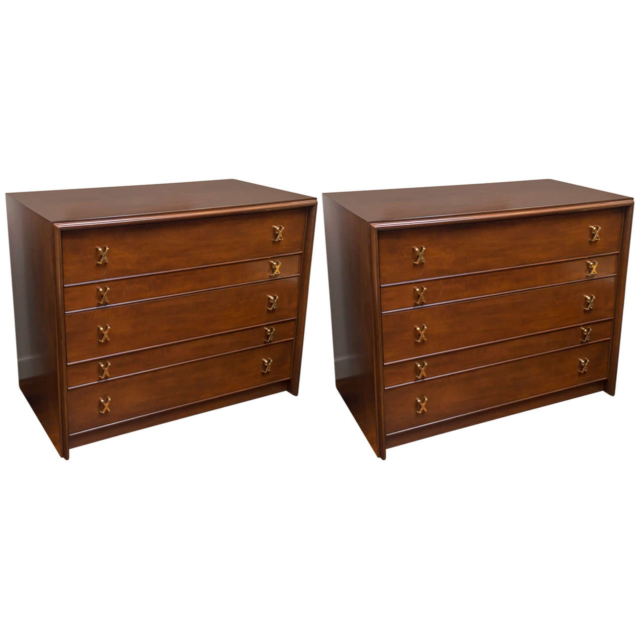 Pair of Paul Frankl Chests of Drawers