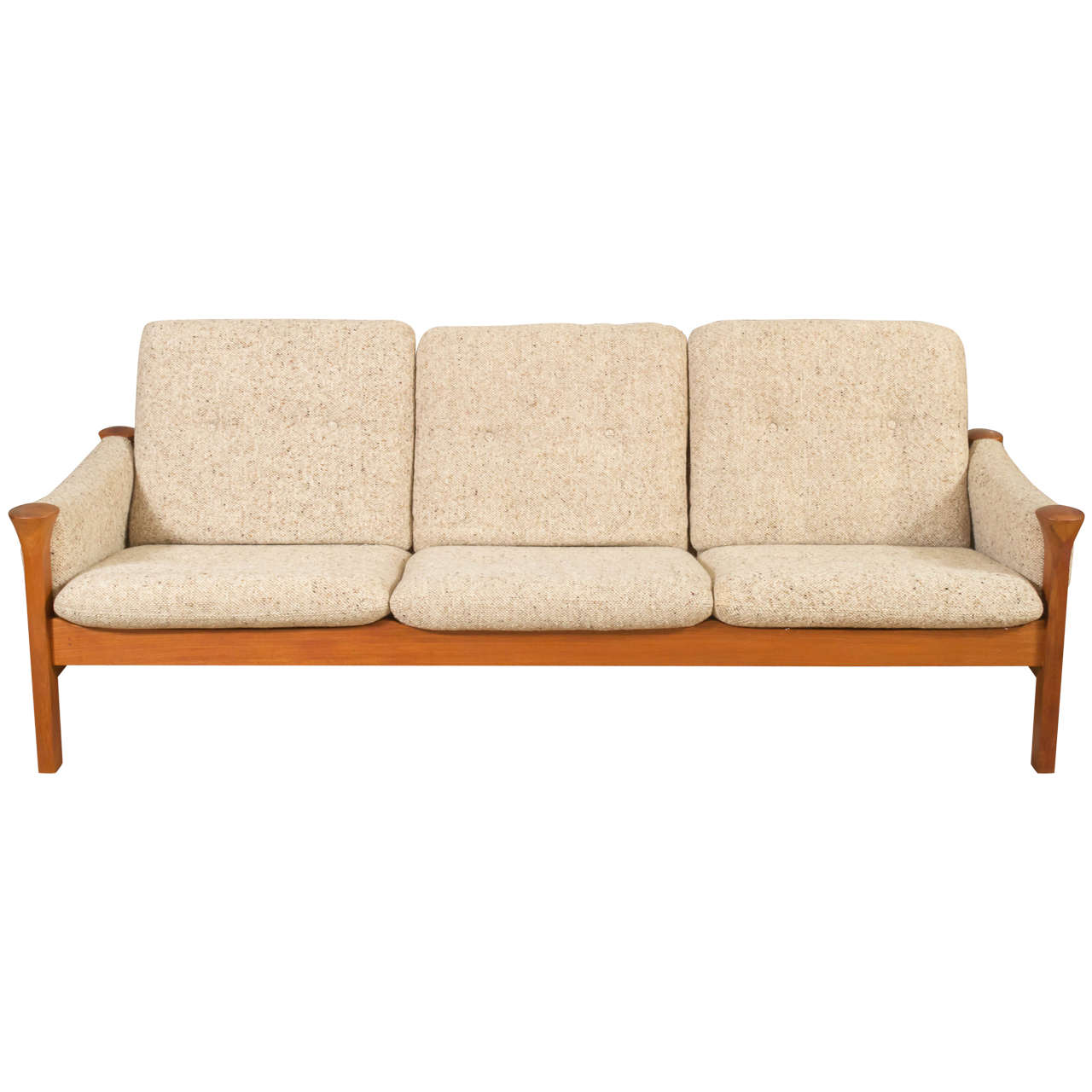 Teak Arne Vodder For Cado Sofa 1