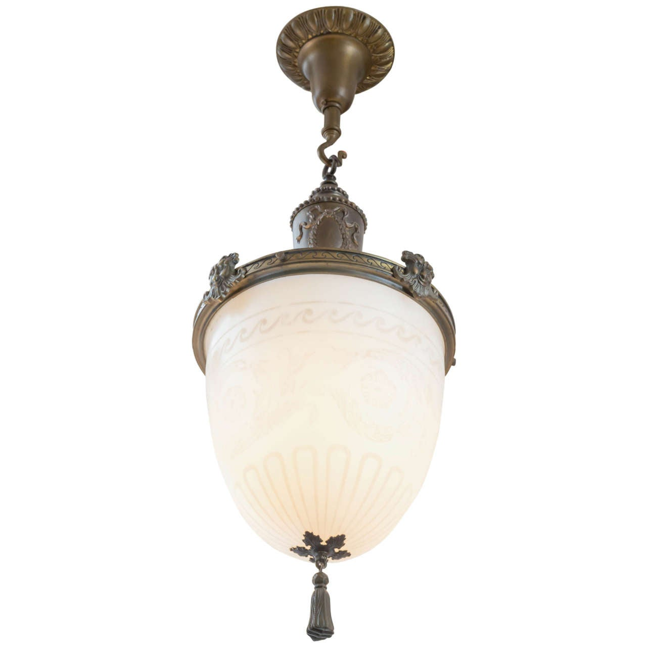 Late Victorian Whimsical Pendant Or Chandelier At 1stdibs