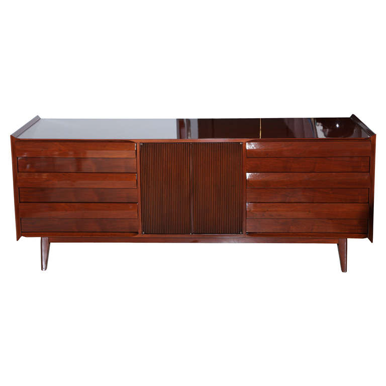 Lane Mahogany Dresser, 1960s