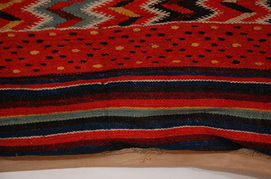 Antique Saltillo Serape Textile For Sale At 1stdibs