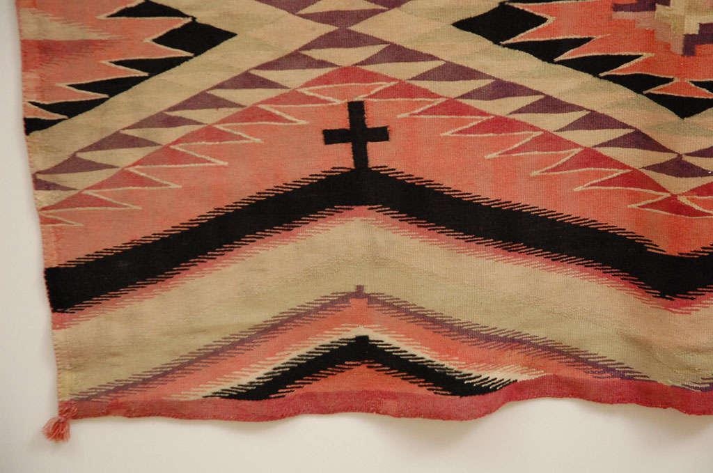 Navajo Eye Dazzler Blanket For Sale 1