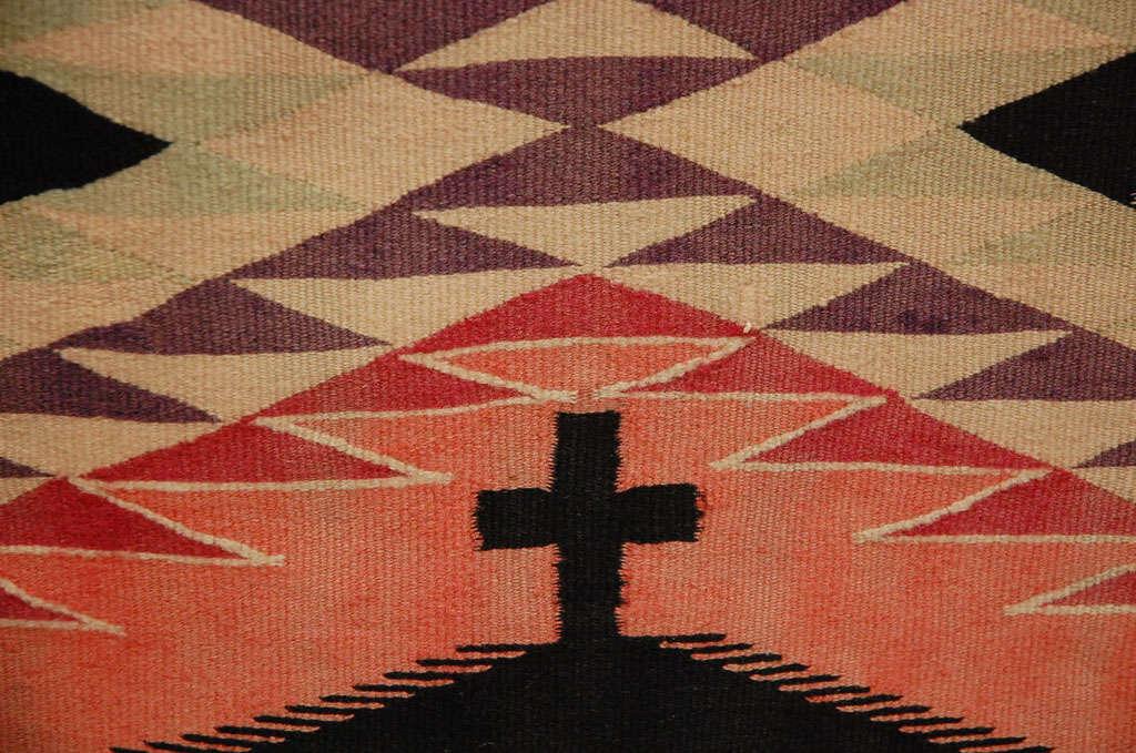 Navajo Eye Dazzler Blanket For Sale 2