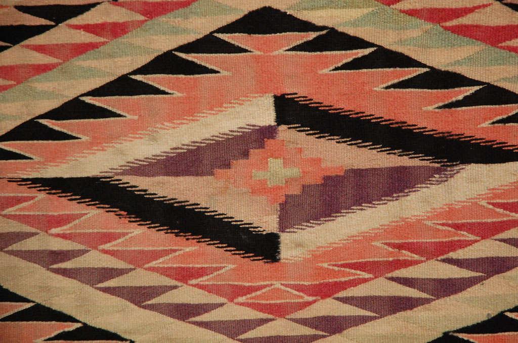 Navajo Eye Dazzler Blanket For Sale 3