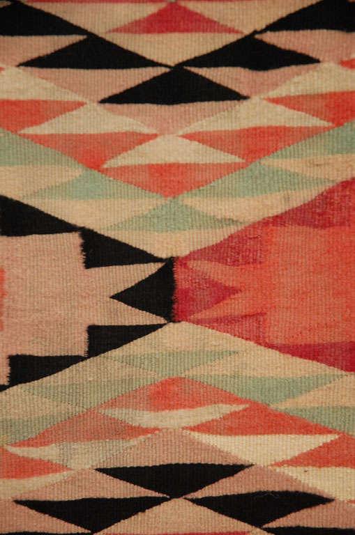 Navajo Eye Dazzler Blanket For Sale 4