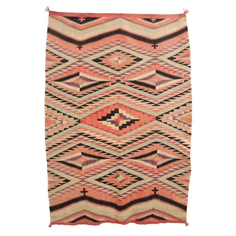 Navajo Eye Dazzler Blanket For Sale