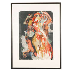 Karel Appel Color Lithograph on Paper